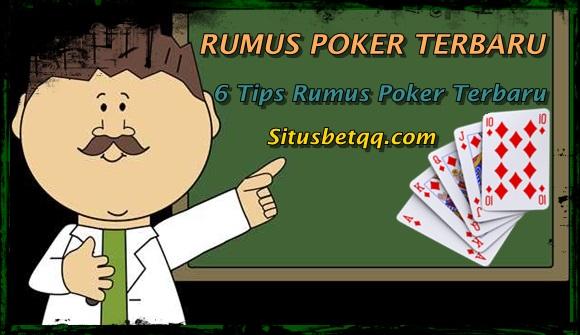 rumus poker terbaru